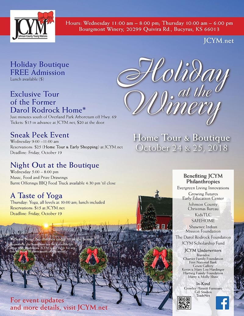 JCYM Presents: Holiday at the Winery | Darol Rodrock Foundation